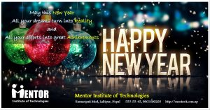 Happy New Year - Mentor IT