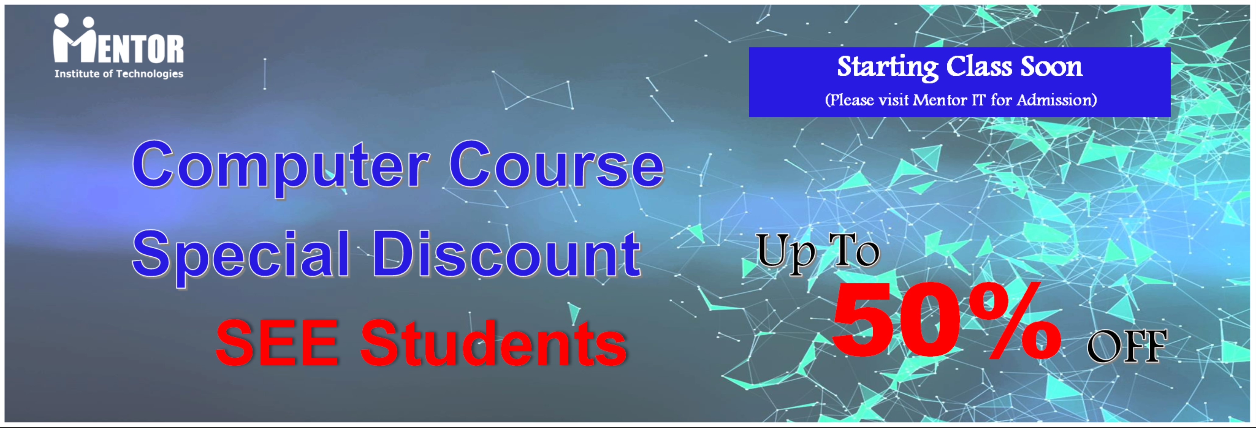 Special computer course for SEE Appeared students