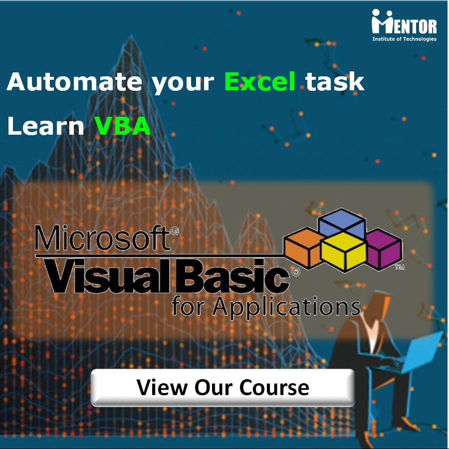VBA Excel training in Nepal